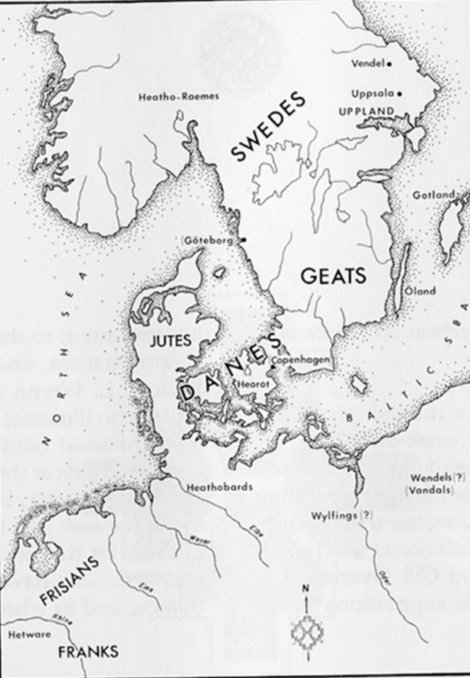 Map of Relevant Location Geatland Map on ancient greek myth odysseus map, danes map, halland sweden map, beowulf map, bastad sweden map, birka on the map, anglo-saxon english language map, citrus jeep trail map, northern sweden map, geats map, rome invaders map, hero plot map,