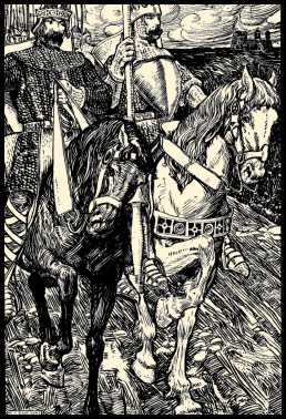 the christianity aspects in the poem sir gawain and the green knight Free essay: pagan and christian symbolism in sir gawain and the green knight people of the middle ages saw and interpreted their world through the lens of.