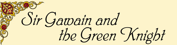 an analysis of the role of a knight in sir gawain and the green knight of the arthurian legends (sir gawain and the green knight's pale imitation, the greene knight, removes morgan from the plot entirely and makes bertilak's mother-in-law an enchantress) the poet does get some mileage out of the fact that gawain, morgan, and arthur are all related.