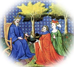 attitudes toward marriage in chaucers the canterbury tales Chaucer mocks the catholic church this can be seen in both the prologue and in the tales although he mocks the church and its practices, he is respectful of religion itself.